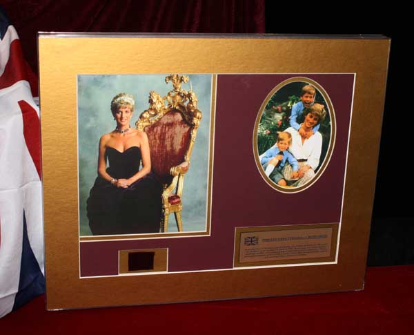 princess diana dress collection. Next in this Collection is a Beautiful Rare ARTIFACT of a real PRINCESS DIANA quot;BALL GOWN.quot;